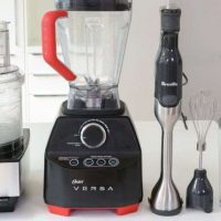 What are the main differences between a stand mixer, a countertop blender and a food processor?